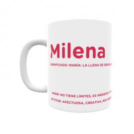 Taza - Milena