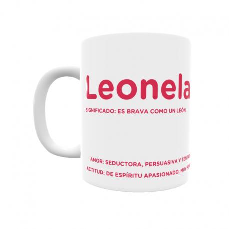 Taza - Leonela