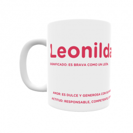 Taza - Leonilda