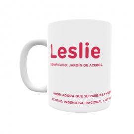 Taza - Leslie