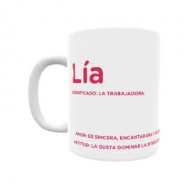 Taza - Lía
