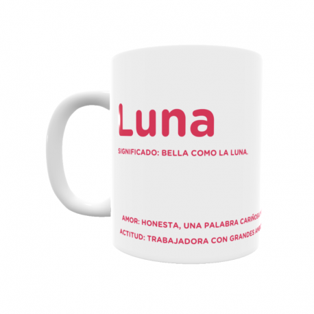 Taza - Luna