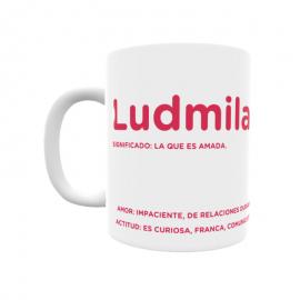 Taza - Ludmila