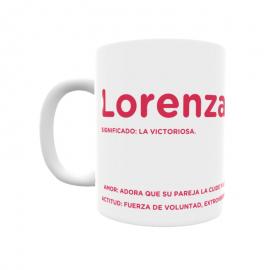 Taza - Lorenza