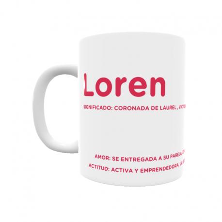 Taza - Loren