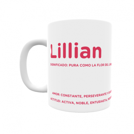 Taza - Lillian