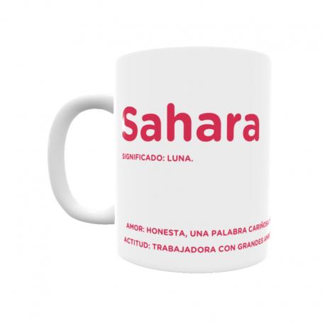 Taza - Sahara