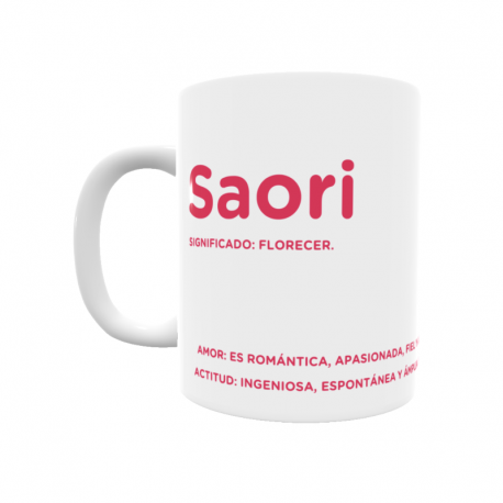 Taza - Saori