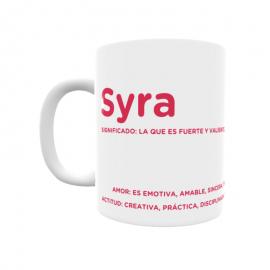 Taza - Syra