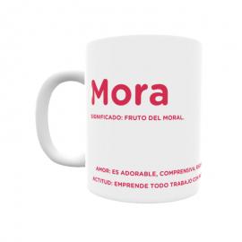 Taza - Mora