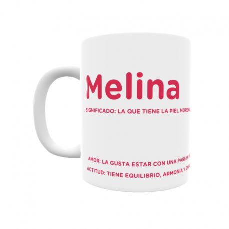 Taza - Melina