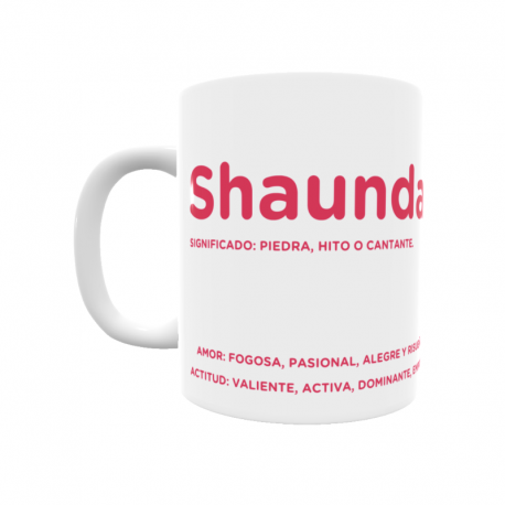 Taza - Shaunda
