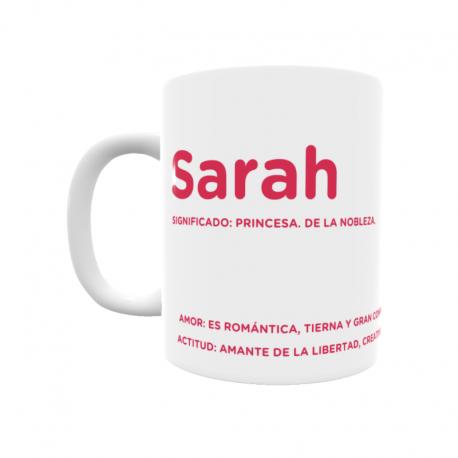 Taza - Sarah