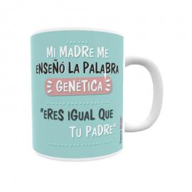 Mi madre me enseño la palabra genética