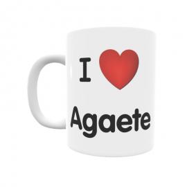 Taza - I ❤ Agaete