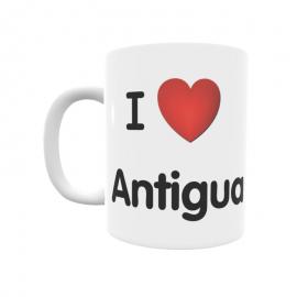 Taza - I ❤ Antigua