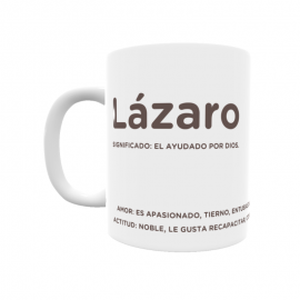 Taza - Lázaro