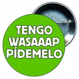 Chapa 75 mm personalizada despedida soltera Tengo wasaaap pídemelo.