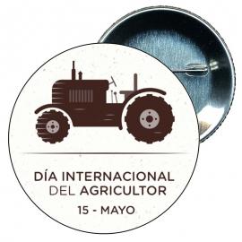 Chapa 58 mm día nacional del agricultor 15 mayo