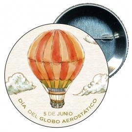 Chapa 58 Día del globo aerostático 5 Junio.