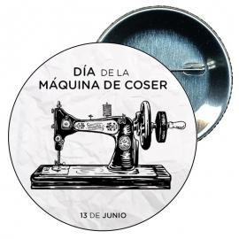 Chapa 58 Día de la máquina de coser - 13 Junio.