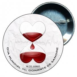 Chapa 58 Día del donante de sangre - 13 Junio.