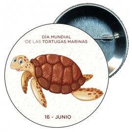 Chapa 58 Día mundial de las Tortugas Marinas 16 Junio.