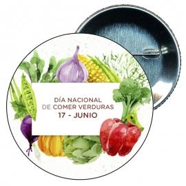 Chapa 58 Día nacional de comer verduras 17 Junio.