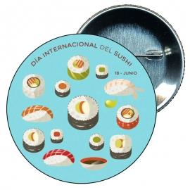 Chapa 58 Día internacional del sushi 18 Junio