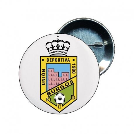 Chapa 25 mm escudo burgos ud - souvenir - merchandising