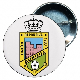 Chapa 58 mm Escudo CD Burgos U.D. Merchandising