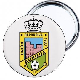 Chapa espejo - Escudo CD Burgos U.D.