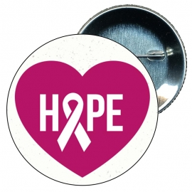 Chapa 58 mm Día mundial contra el Cáncer de mama