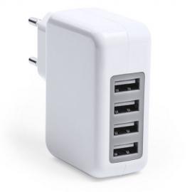 Cargador casa con 4 USB 3100 mA