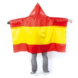 Bandera ESPAÑA poncho - Mundial 2018