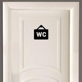 Vinilo personalizado - WC Baño - W01