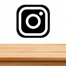 Pegatina personalizada de vinilo social media, instagram