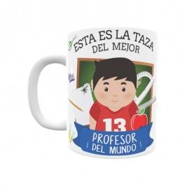 Taza profesiones - Profesor
