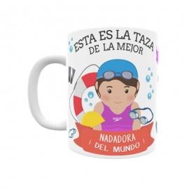 Taza - Nadadora