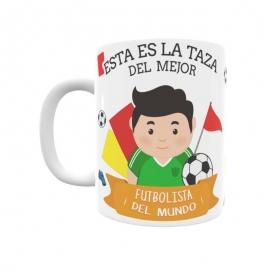 Taza - Jugador de Fútbol