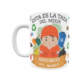 Taza - Barrendero