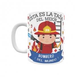 Taza - Bombero