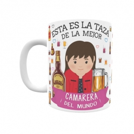 Taza - Camarera
