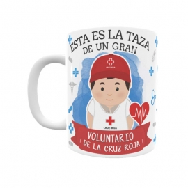 Taza - Voluntario Cruz Roja