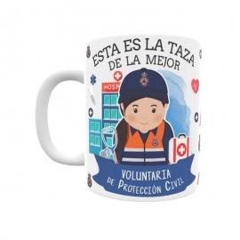 Taza - Voluntaria Protección Civil