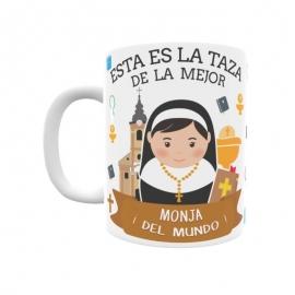 Taza - Monja