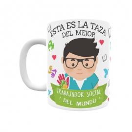 Taza - Trabajador Social