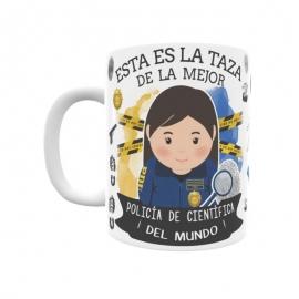 Taza - Policía Científica
