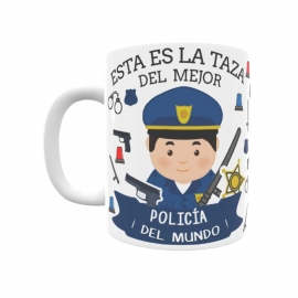Taza - Policía Nacional (Él)