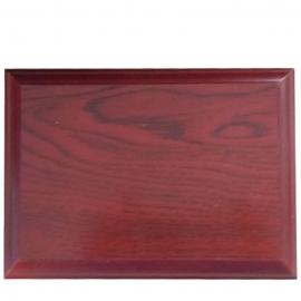 Personaliza diploma madera Blanco - Grande con base de madera